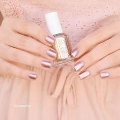 this statement-making authentic copper metallic essie nail lacquer says it all -- 'penny talk'
