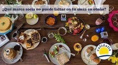 ¿Qué marca socia no puede faltar en tu mesa en otoño?