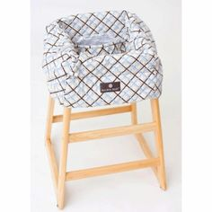 Balboa Baby Shopping Cart Cover - Blue/Brown Plaid babies-r-us-dream-registry Baby Shopping Cart Cover, Babies R Us, Blue Plaid, Bassinet, Blue Brown, Kids, Clothes, Young Children, Outfits