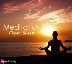 Great meditation tips from My Well-Being. I can do this: All you need to know about #meditation