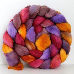 JOKER   Merino Wool Top Roving 4oz by SpunRightRound on Etsy, $16.00