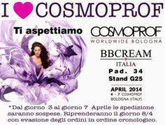 Recensioni cura del sé: BBcream Italia a Cosmoprof 2014
