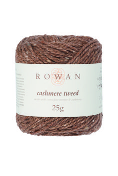 Rowan Cashmere Tweed DK knitting yarn. Brand NEW Rowan yarn, made of virgin wool and cashmere in 8ply weight. Available in 8 shades, find them all at LoveKnitting.