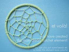 Great tutorial on how to make dream catchers :)