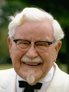 Image result for col sanders 1980