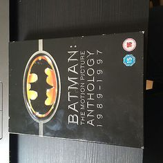 Batman - the motion #picture anthology 1989-1997 #(dvd, 2009, #4-disc set, box se,  View more on the LINK: 	http://www.zeppy.io/product/gb/2/332007474161/
