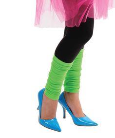 Neon Leg Warmers
