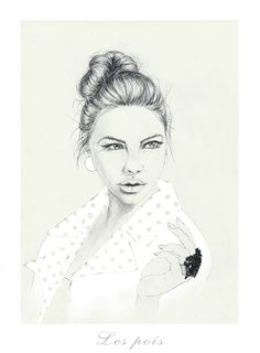 illustration, polish illustration, drawing, beauty, dyzia malyzia