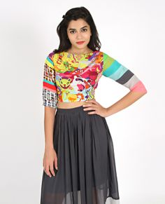 DreamFactory CropTop | Shop from www.thequirkbox.com