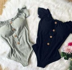 Veja mais no site Cute Casual Outfits, Casual Dresses, Summer Outfits, Teen Fashion Outfits, Girl Outfits, Jeggings Outfit, Body Suit Outfits, Cute Swimsuits, Mode Hijab