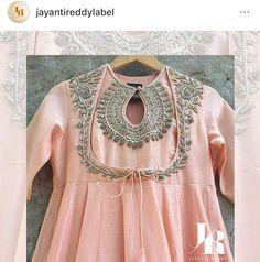 Jayanti reddy # label # Anarkali Detail # hand work # Indian fashion