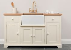 Painted Kitchen Dressers and Fine Free Standing Furniture from The Kitchen Dresser Company / Furniture - Sideboards - The Scullery