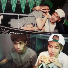 I love baekxing , they are so cute - #AdminSH