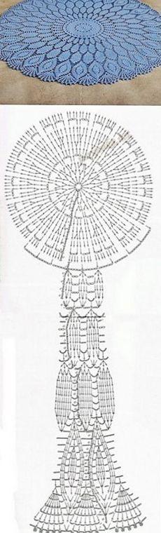 KUFER z artystycznym rękodziełem : Wzory szydełkowe
