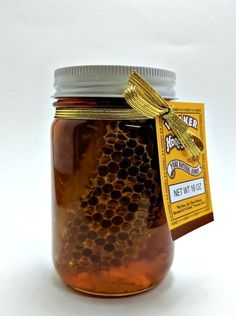 Online store selling raw honey and honey products.