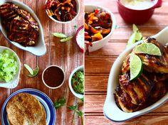 #HealthyRecipe - Rum Lime Chicken Fajitas