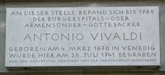 Poor Antonio, he doesnt even have his own grave. That s the very sad end of his life...
