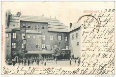 ALLEMAGNE  KÖNIGSBERG 1903 schloss hauptwache