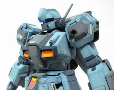 HGUC 1/144 RGM-89S Stark Jegan Battle Damage – Customized Build | patrickgrade