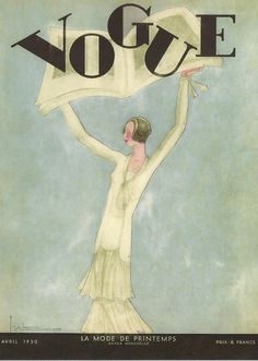 Vogue Cover 1930 ~ Georges Lepape