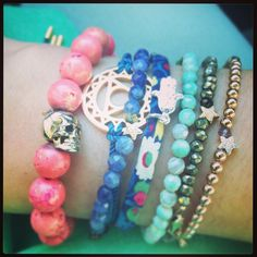 Summer Candy #bracelets
