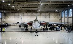 The owners of the last airworthy Vulcan bomber have promised the much-loved Cold War relic will eventually return to public view, but for now it has to go into 'hibernation'. The 57-year-old Vulcan nuclear bomber - XH558 - flew for the last time in October 2015 after a summer delighting millions of people at air shows and fly-pasts around the UK