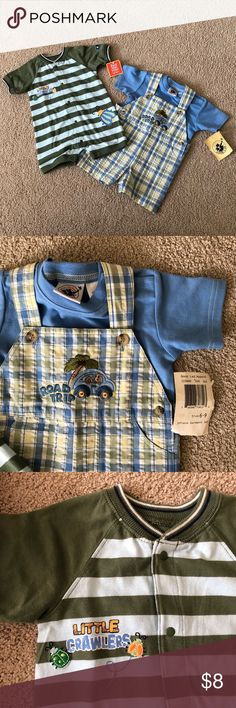 NWT Boys Size 6 month lot 2 cute NWT boys outfits for your little guy.    Will accept most offers.  Check out other items in my kids closet to bundle for more discounts.  Just wanting these to be useful to someone!  Thanks for looking! Matching Sets Kid Closet, Guy, Boy Outfits, 6 Months, Children, Kids Shop, Check, Toddlers, 6 Mo