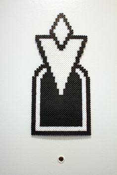 Perler fuse bead TES:V Skyrim Quest Marker  by PkmnMasterTash/pkmnmastertash-creations/Natasha Lazaravich