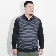 Áo len không tay cho người mập