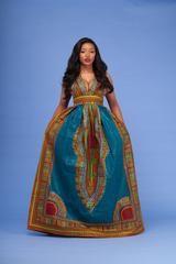 Wanti Dashiki Maxi Dress