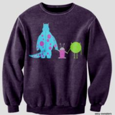 Monsters inc :) love this sweater!