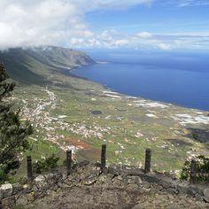 Camino Sendero de Jinama. Frontera, El Hierro -  Islas Canarias