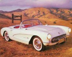 57 Corvette Fuel Injected | Transportation | Hardboards | Wall Décor | Plaquemount | Blockmount | Art | Pictures Frames and More | Winnipeg | MB | Canada