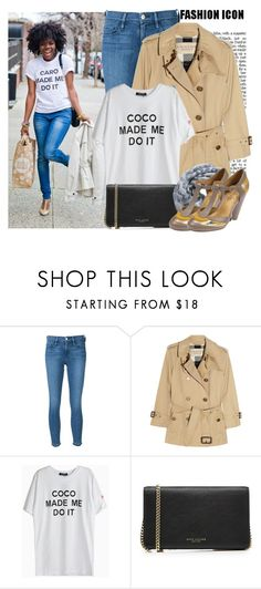 """""""...made me do it"""" by prettyorchid22 ❤ liked on Polyvore featuring Frame Denim, Burberry, Marc Jacobs and Alva-Norge"""