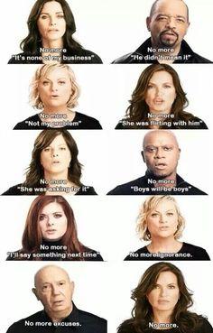 #NoMore #RapeCulture Celebrities against rape!