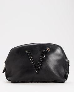 Versace LU Genuine Leather Evening Bag  Women #Accessories