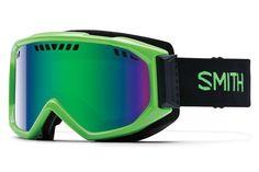 Smith - Scope Reactor Goggles, Green Sol-X Mirror Lenses