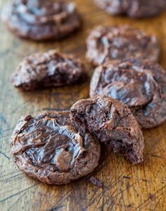 These cookies have been on my bucket list for years. I only wish I had checked them off my list sooner because I loved every fudgy center and chewy-edged bite. They're one hundred percent from scratch, no cake mix, no brownie mix, no shortcuts. The recipe is adapted from Donna Hay, who's been called the …