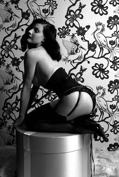 """Gitte Meldgaarde, Danish, b.1965- """"Dita""""; archival photographic print, 1 from an edition of 15, 40.5x50.8cm. Signed by the photographer the photograph of #ditavonteese"""
