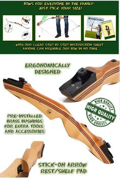 KESHES Hunting Recurve Bow is a great bow; best for hunting, affordable, beautifully & Right Best Recurve Bow, Takedown Recurve Bow, Recurve Bows, Hunting Bows For Sale, Bow Hunting, Arrow Rest, Archery Equipment, Woodworking Workshop, Slingshot