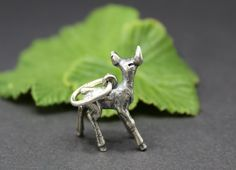 Gold, Animals, Silver Charms, Beautiful Gifts, Crocodile, Deer, Neck Chain, Nature, Animales