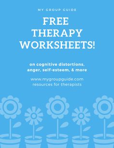 My Group Guide- Free Therapy Worksheets Group Therapy Activities, Mental Health Activities, Therapy Worksheets, Counseling Activities, Science Education, Health Education, Physical Activities, Physical Education, Cognitive Behavior