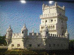 Torre de Belêm em Lego