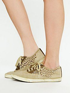 Studded sneakers!