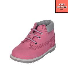 1a6c1c3900cc TIMBERLAND Nubuck Leather Boots Size 16 UK 0.5 Debossed Logo Round Toe  Laced  fashion