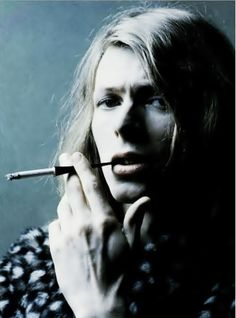 David Bowie. Brian Ward sessions for the cover of Hunky Dory, 1971.