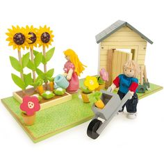 Set de jard�n de madera - Le Toy Van