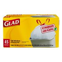 $1.35 off Glad® Tall Kitchen Drawstring Trash Bag
