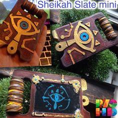 The Legend of Zelda Breath of The Wild Cosplay Sheika Slate Mini Ver Handmade | eBay