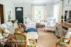 Miss Mustard Seed family room